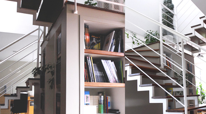 bretagne habitation agence d 39 architecture bh ecotech escalier rennes bretagne. Black Bedroom Furniture Sets. Home Design Ideas